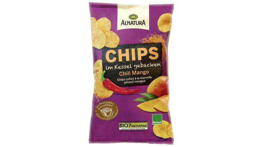 Alnatura Chips im Kessel gebacken Chili Mango