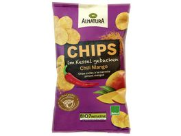 Alnatura Chips im Kessel gebacken Chili Mango