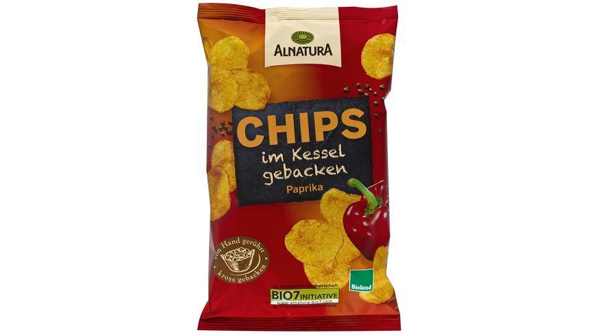 Alnatura Chips im Kessel gebacken Paprika 125g
