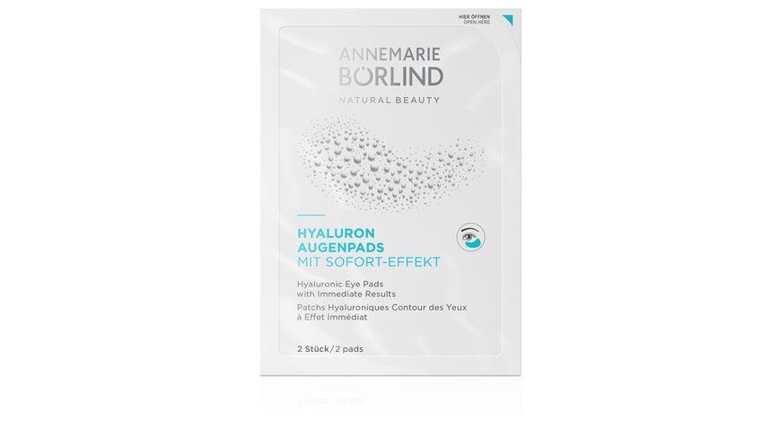 ANNEMARIE BOeRLIND HYALURON AUGENPADS mit Sofort Effekt