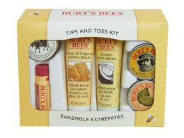 BURT S BEES Tips and Toes Geschenkset