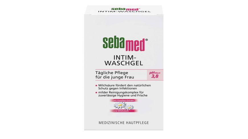 sebamed Intim Waschgel pH Wert 3 8