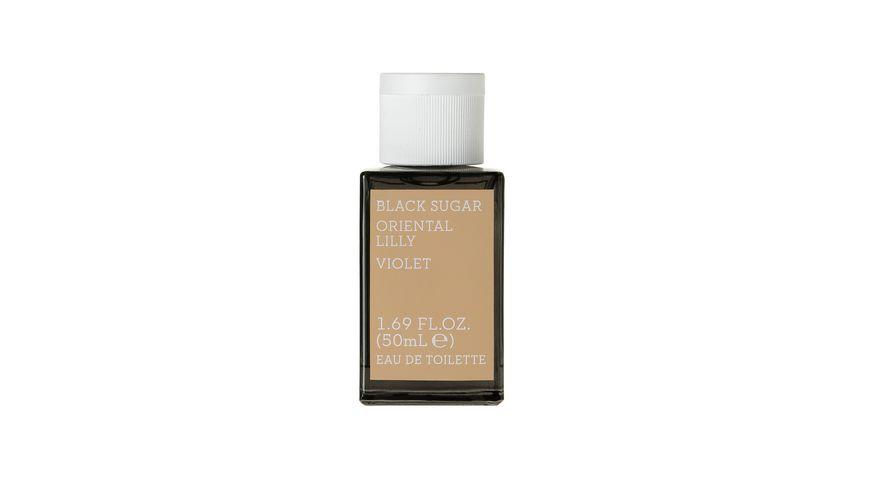 KORRES Black Sugar Oriental Lily Violet Eau de Toilette fuer Sie