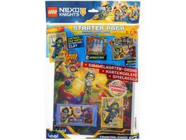 Blue Ocean LEGO NEXO Knights Trading Cards STARTER PACK