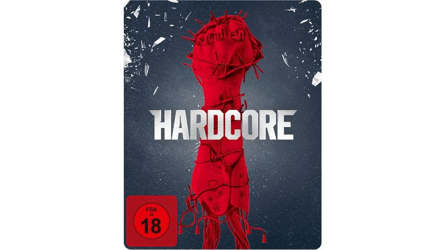 Hardcore exklusives Mueller Steelbook Blu ray Disc