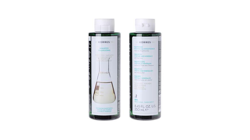 KORRES Anti Hair Loss Shampoo fuer Maenner