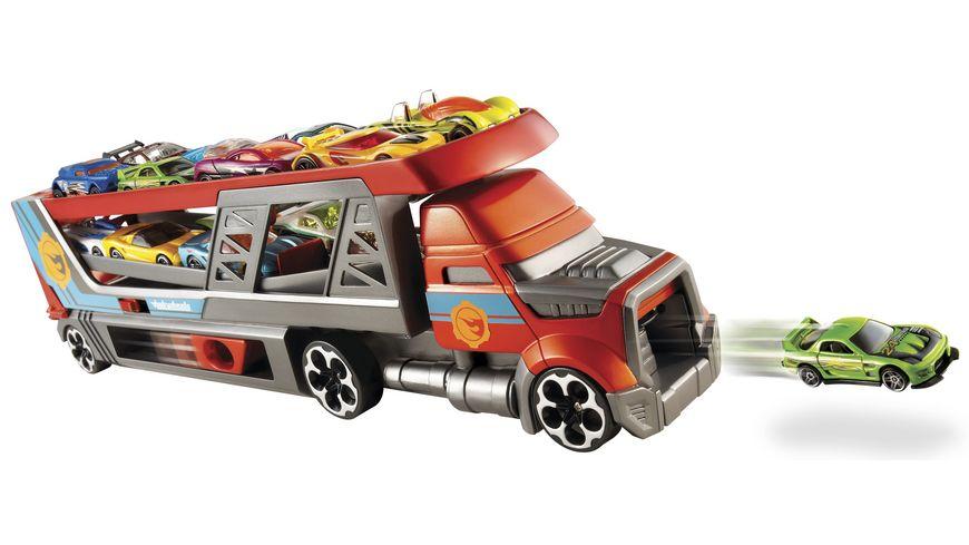 Mattel Hot Wheels Blasting Rig inkl 3 Fahrzeuge