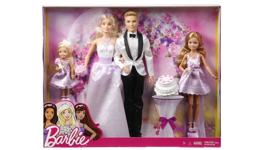 Mattel Barbie Wedding Giftset