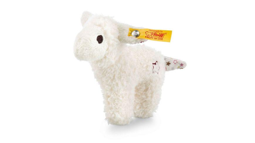Steiff - Mini Knister-Lamm mit Rassel, weiß, 11cm