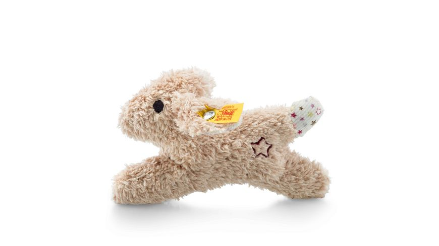 Steiff Mini Knister Hase mit Rassel 11 cm
