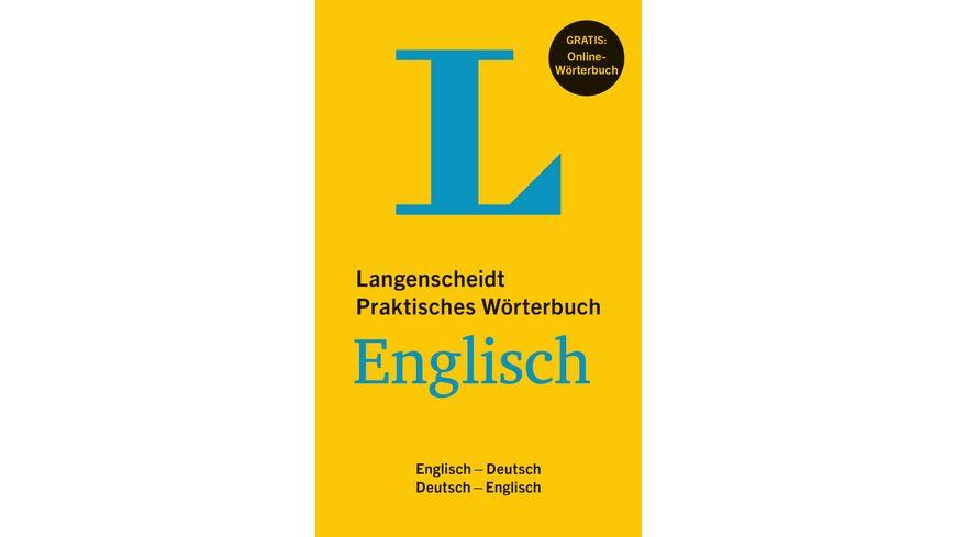Langenscheidt Praktisches Wörterbuch Englisch Buch Mit Online