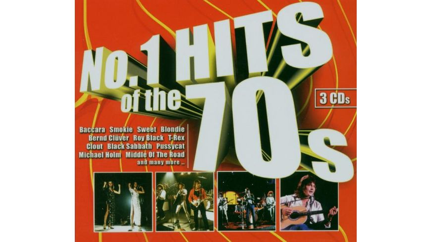No 1 Hits Of The 70s