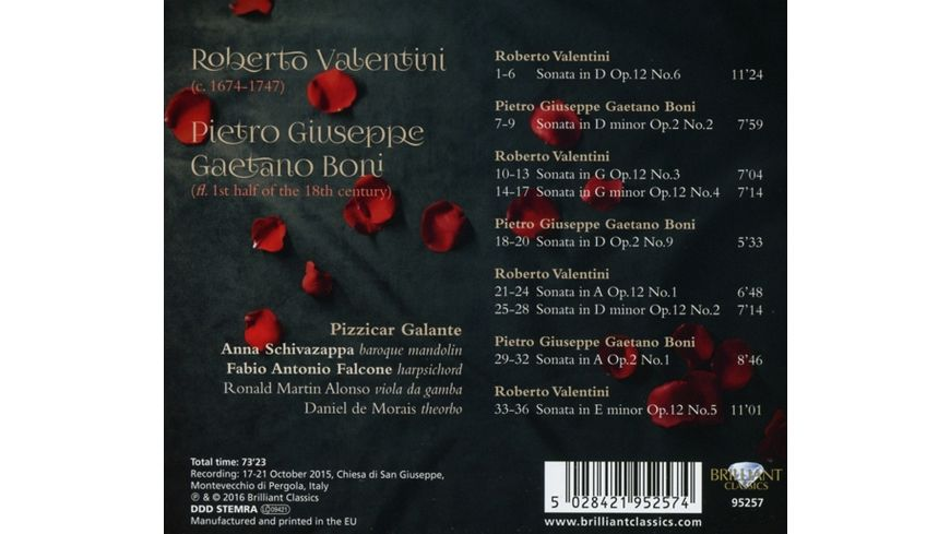Complete Mandolin Sonatas