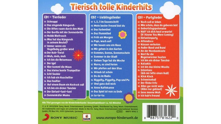 Tierisch tolle Kinderhits 01 3er Box Tierlieder