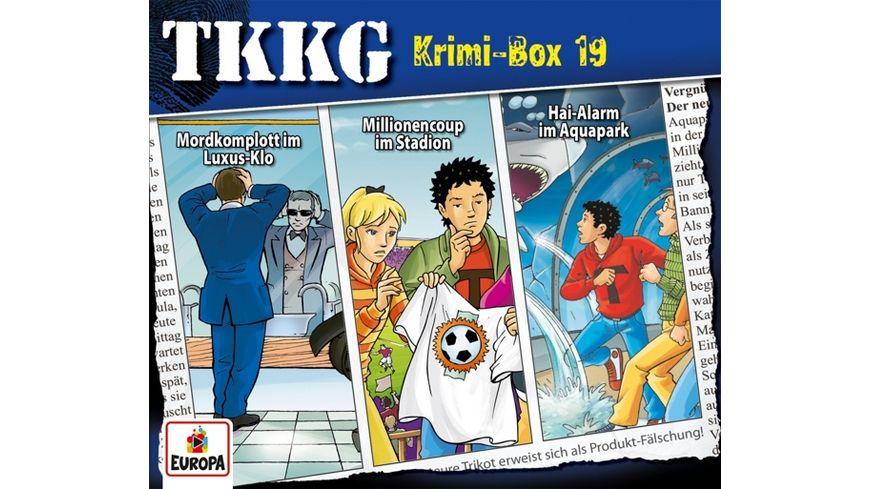 Krimi Box 19 Folgen 123 168 178
