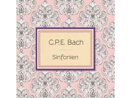 C P E Bach Sinfonien