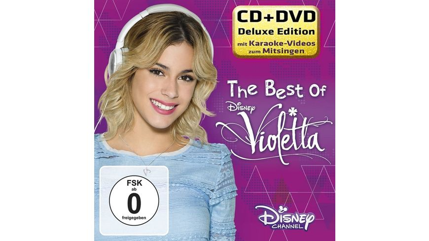 The Best Of Violetta Deluxe CD DVD