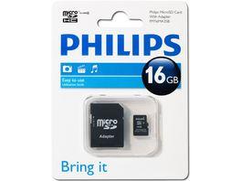 Philips Mirco SDHC Karte 16GB Class 4