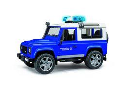 BRUDER THW Land Rover Defender