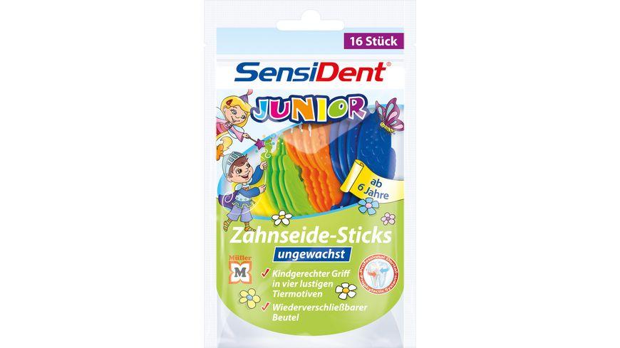 SensiDent Zahnseidesticks Junior