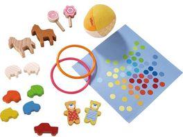 HABA Little Friends Puppenhaus Spielset Lieblingsspielsachen