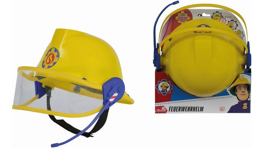 Simba Feuerwehrmann Sam Feuerwehr Helm