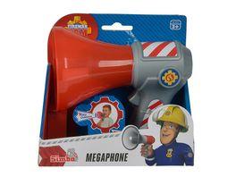 Simba Feuerwehrmann Sam Feuerwehr Megaphon