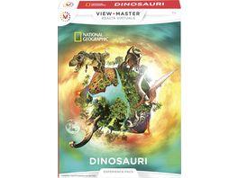 Mattel View Master Erweiterungspack Dinosaurier