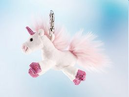Rudolf Schaffer Collection Schluesselanhaenger Einhorn SHINY 11 cm