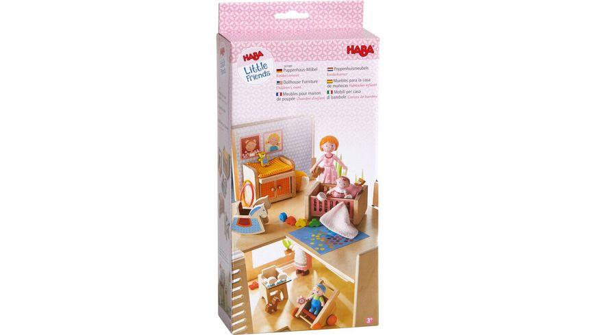 HABA Little Friends Puppenhaus Kinderzimmer