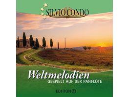 Weltmelodien auf der Panfloete Ed 1