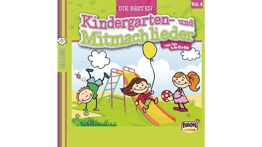 Die besten Kindergarten und Mitmachlieder Vol 4