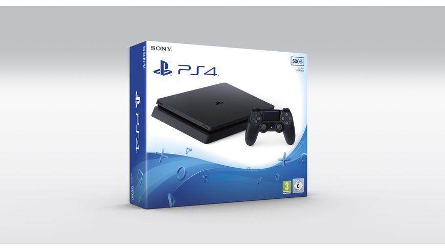 PS4 Konsole Slim 500 GB schwarz