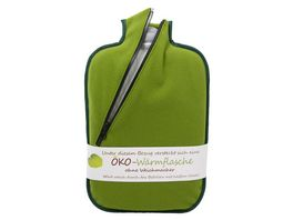 Hugo Frosch Oeko Waermflasche Classic Comfort mit Softshell Bezug Bambus 2l