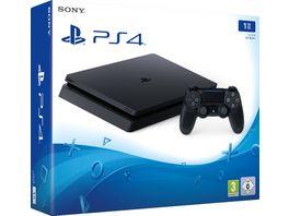 PlayStation 4 Konsole Slim 1TB schwarz