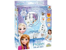 CRAZE Magic Sand Olaf Set ca 200g Sand