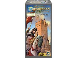 Hans im Glueck Strategiespiele Carcassonne Der Turm 4 Erweiterung