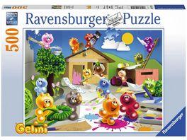 Ravensburger Puzzle Gelini Froehliche Bastelrunde 500 Teile