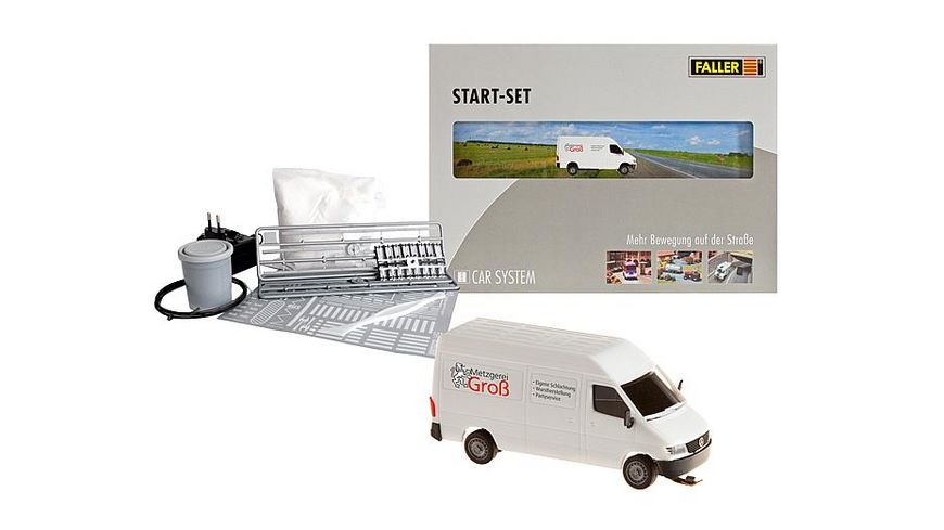 Faller car system 161504 H0 Start Set MB Sprinter