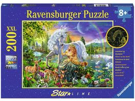 Ravensburger Puzzle Leuchtpuzzle Magische Feennacht 200 Teile