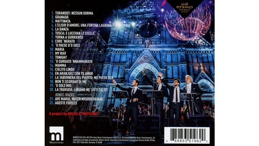 Notte Magica A Tribute to The Three Tenors Live