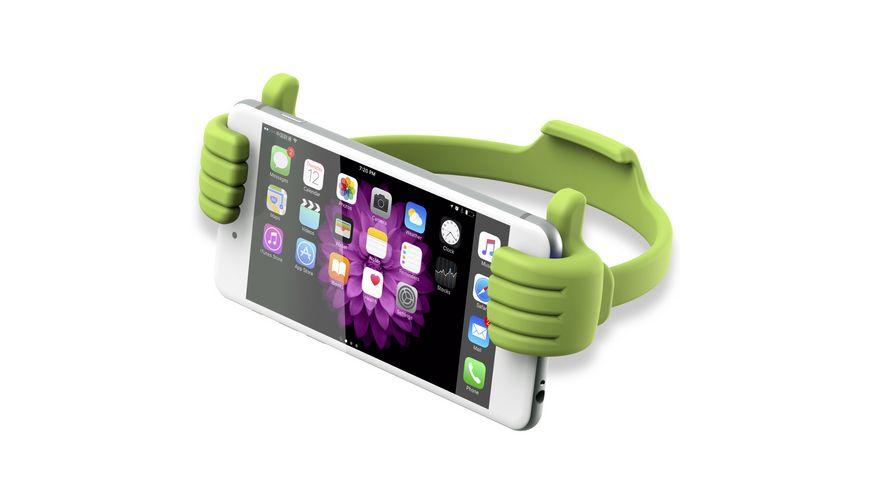 XlayerColourline Gruen Smartphone Tablet Reader Halter