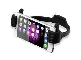 XlayerColourline Schwarz Smartphone Tablet Reader Halter