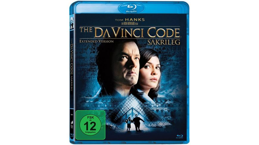 The Da Vinci Code Sakrileg Extended Version Blu ray Disc