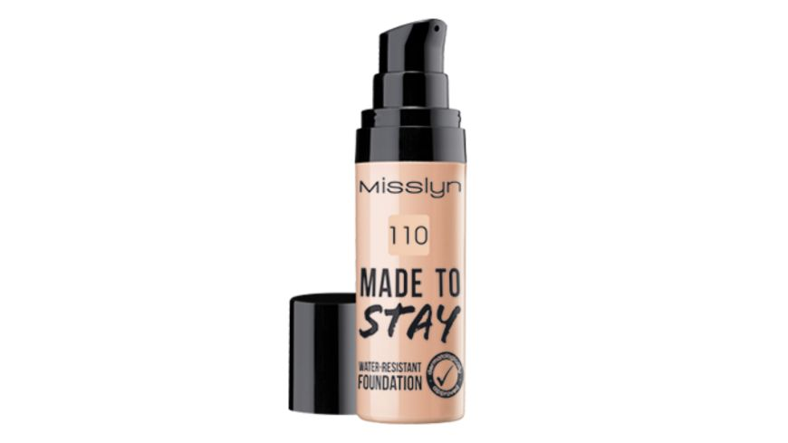 Misslyn Made To Stay water resistant foundation