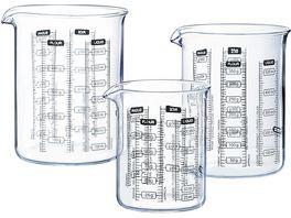 PYREX Messbecher aus Glas 250ml