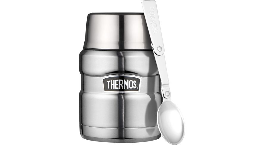 THERMOS Isolierspeisegefäß Stainless King 0,47l