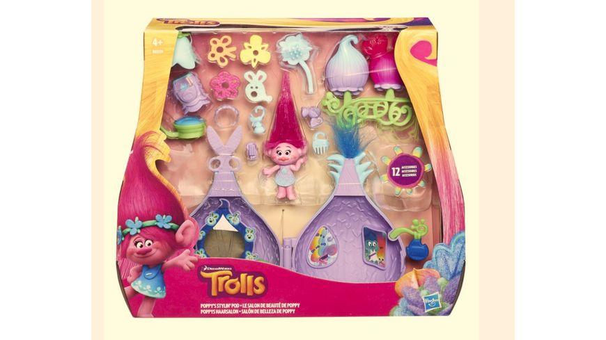 Hasbro Trollstadt Poppys Haarsalon