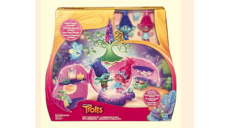 Hasbro Trollstadt Poppys Kroenungssaal