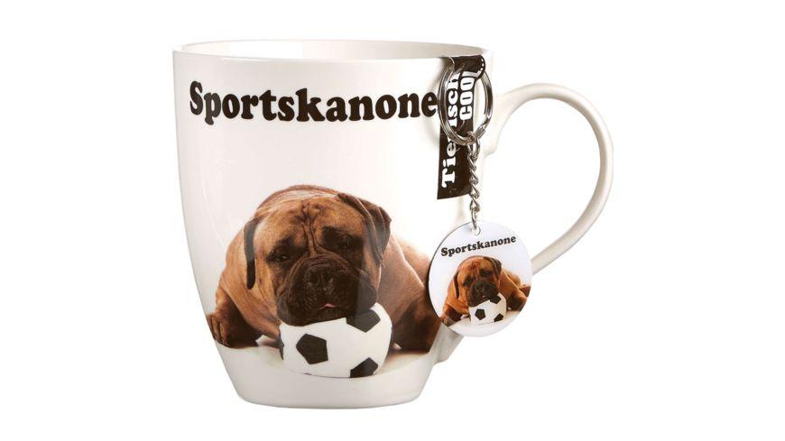 RITZENHOFF BREKER Kaffeebecher mit Schluesselanhaenger Ball
